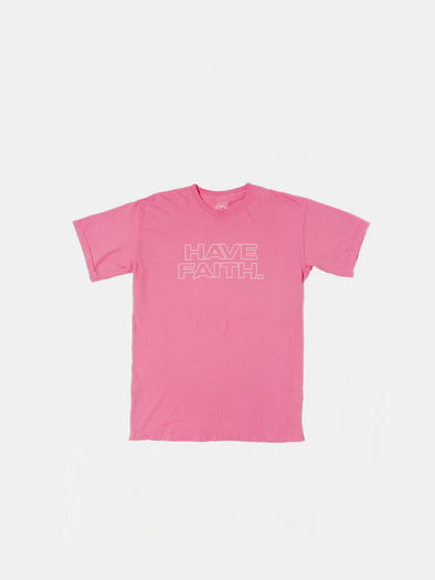 HAVE FAITH T-Shirt | Breast Cancer Awareness Pink