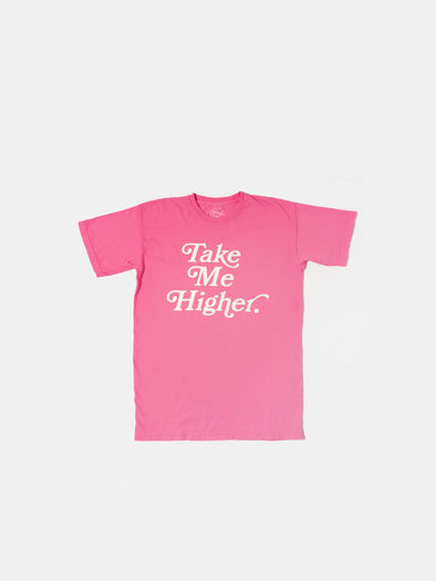 Take Me Higher T-Shirt | Breast Cancer Awareness Pink