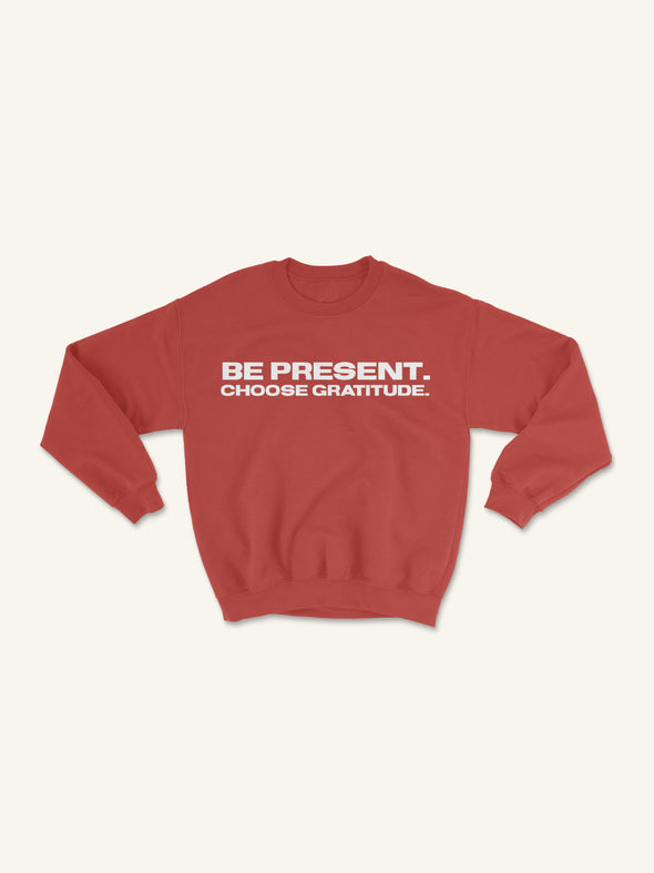 BPCG Crewneck Sweatshirt | Red