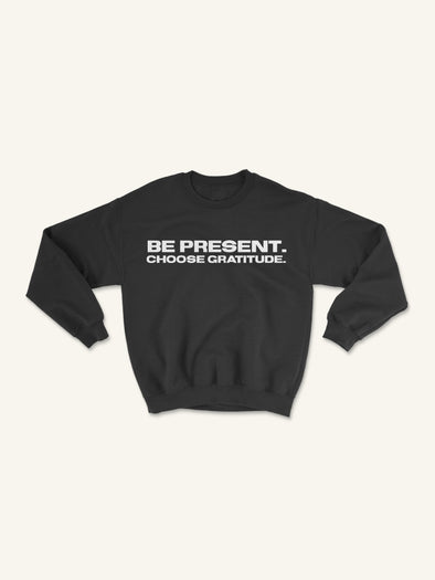 BPCG Crewneck Sweatshirt | Black