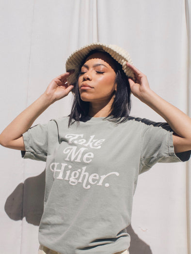 Take Me Higher T-Shirt | Sandstone