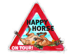 "Aufkleber ""Happy Horse on Tour"""