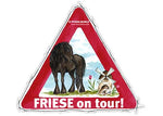 Aufkleber Friese on Tour