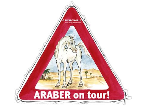 Aufkleber Araber on Tour