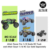 **NEW FOR 2021** Altair Bravo RC Truck | 1:16 Scale Remote Control Monster Truck