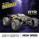 **NEW FOR 2021** Altair Scout Brushless RC Car | 1:16 Scale 4WD Remote Control Race Car