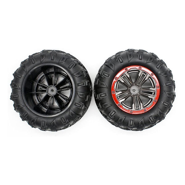 30-ZJ02 1:16 Scale RC Car Tires (2 QTY)