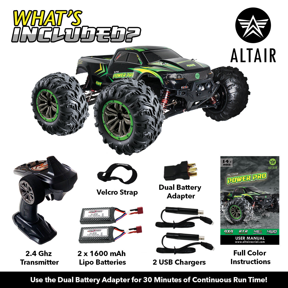 Altair Power Pro Rc Truck Extended 30 Minutes Continuous Run Time Altair Aerial