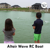 Altair AA Wave RC Boat: Great for Beginners, Anti-Capsize System