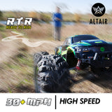 Altair Power Pro RC Truck - Off-Road 4x4 Remote Control Electric Monster Truck