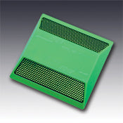 Model 921 Standard Type GG Two Way Green Reflective Plastic Pavement Marker 4""