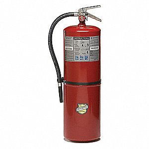 Buckeye 12905 Fire Extinguisher, ABC, 30lb, 10A160BC With Wall Bracket