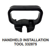 Globe Concealed, The Inch Installation Tool, Hand Held - W593