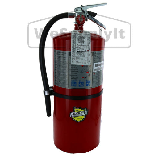 Buckeye 12120  Fire Extinguisher, ABC, 20lb, 10A120BC With Wall Bracket