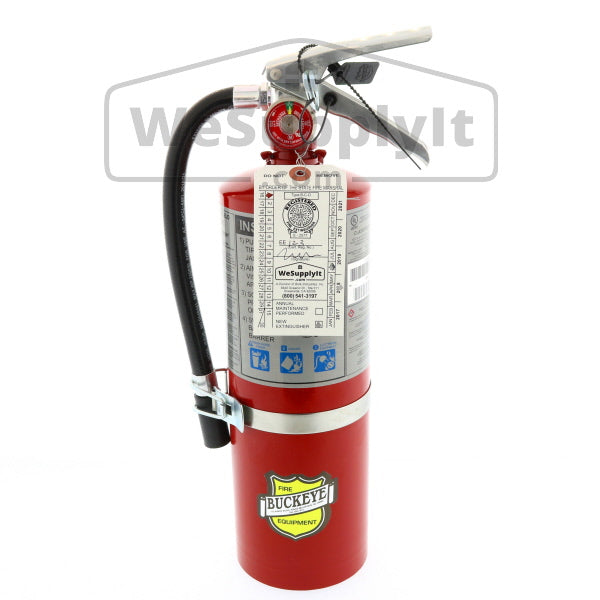 Buckeye 25614 Fire Extinguisher, ABC, 5lb, 3A40BC, With Vehicle Bracket