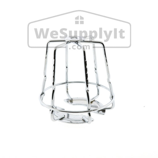 "Fire Sprinkler Head Guard, Mini, One Piece, 1/2"" or 3/4"" Chrome"