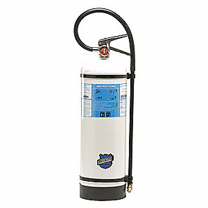 Buckeye 51000 Fire Extinguisher, Water Mist, 2.5 Gallon, 2A:C, With Wall Bracket.