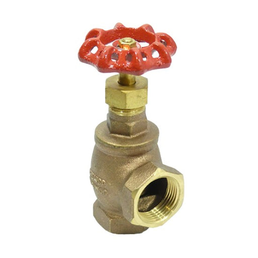 Brass Angle Valve For Fire Sprinkler Systems - Available In Multiple Sizes - W162