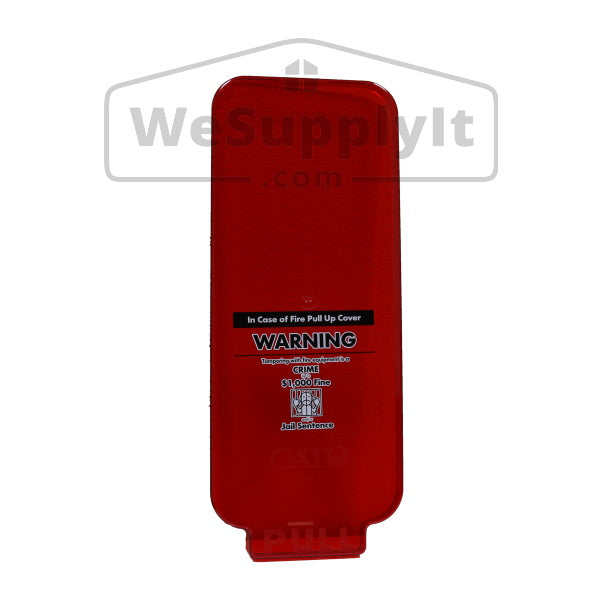 Cabinet Parts - Cato Warrior Front Acrylic Cover/Panel For 5lb Cabinet Red
