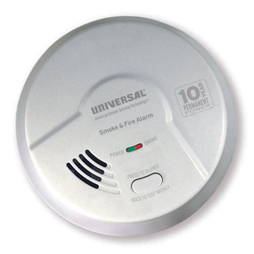 MDSK300S USI Kitchen 2-in-1 Smoke & Fire Smart Alarm with 10 year Sealed Battery & Universal Smoke Sensing Technology