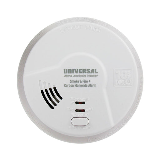 MIC3510SB USI Hallway 3-in-1 Smoke, Fire and Carbon Monoxide Smart Alarm with 10 Year Tamper-Proof Sealed Battery
