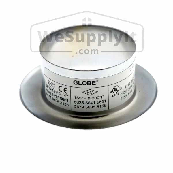 "Globe GL Recessed Slip On Escutcheon -  3/4"" Adjustment- Available In Multiple Colors And Sizes - W635"