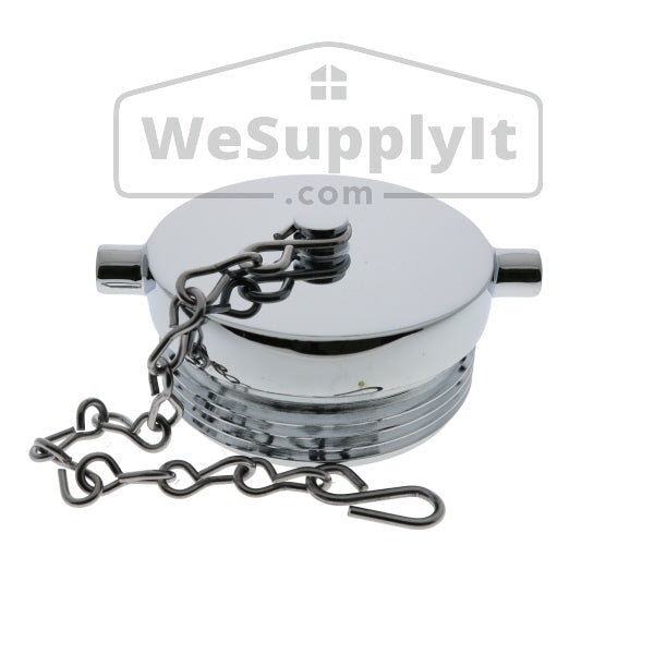 "Plug and Chain, 2 1/2"", Chrome, NST - W761"