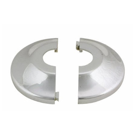 Retrofit One Piece Escutcheon Plastic Chrome - W823