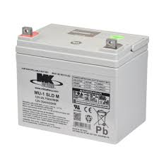 12 Volt 35 Amp Sealed Lead Acid Battery - MK Battery ES33-12 - W877
