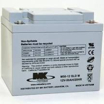 12 Volt 50 Amp Sealed Lead Acid Battery - MK Battery ES50-12 - W879