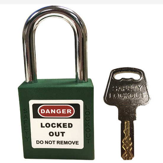 Safety Lockout Steel Shackled Padlock - W140