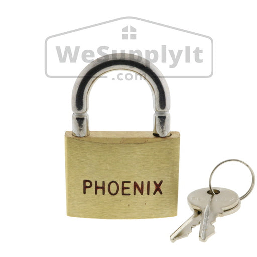 Breakaway Lock With Break Shackle - Phoenix Keyed Alike Brass - W698