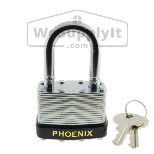 Breakaway Lock With Break Shackle - Phoenix Keyed Alike Steel - W699