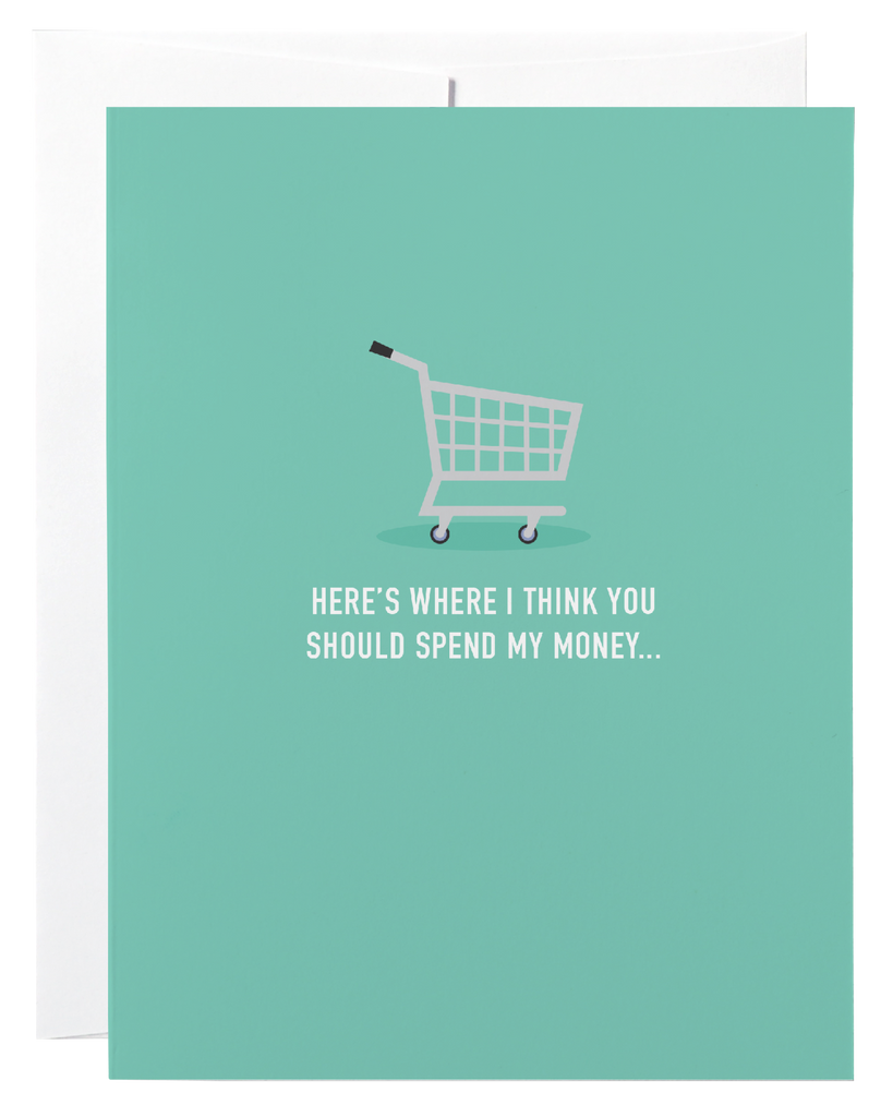 Spend Money - Gift Card