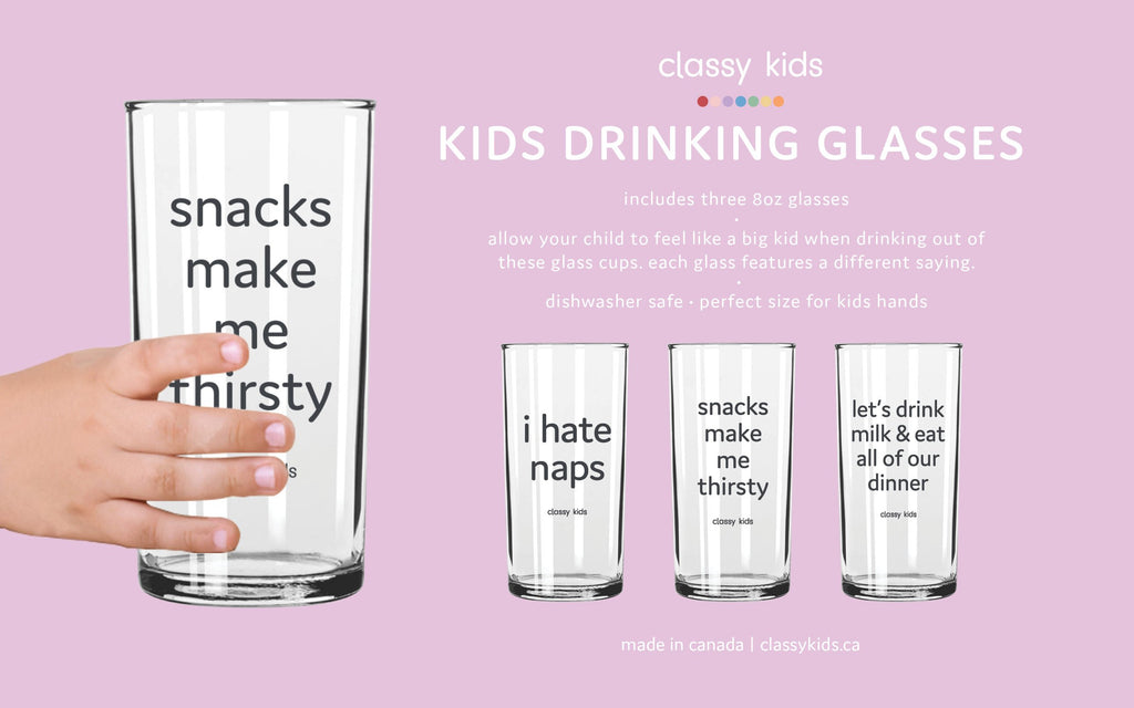 Kids Glasses Set - Collection 1