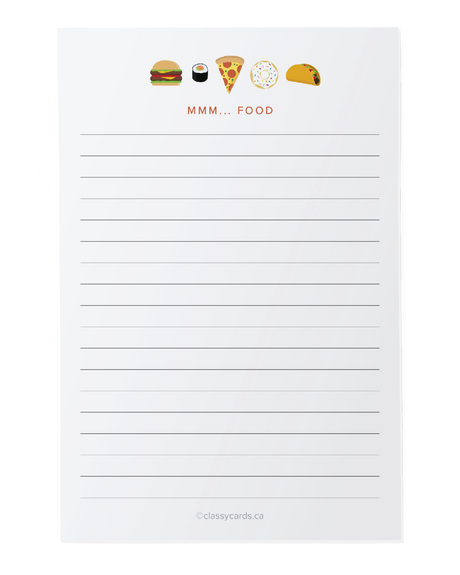 Food Notepad