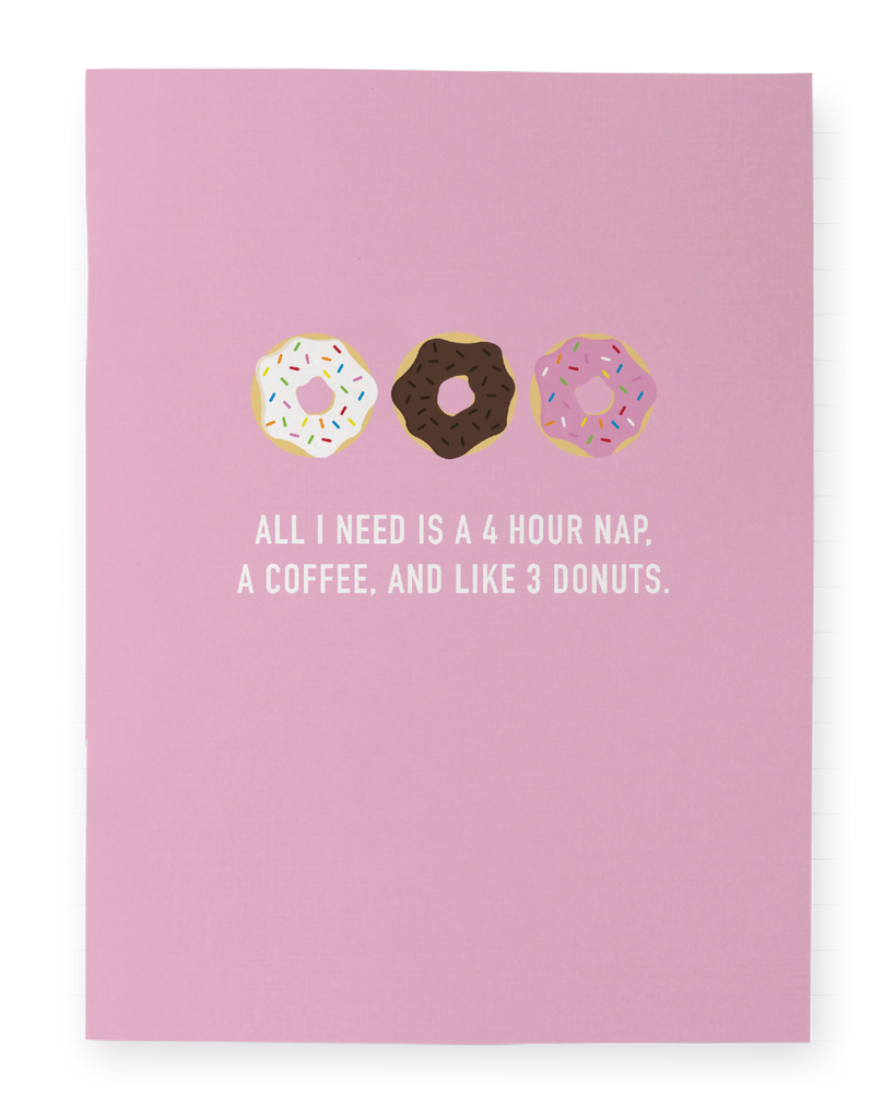 Donuts Pocket Notebook