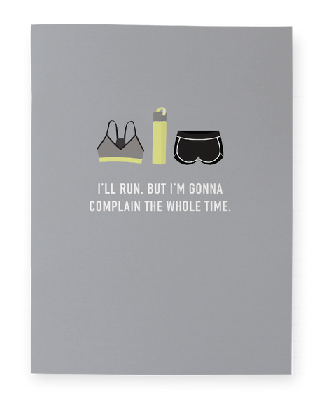 I'll Run Pocket Notebook