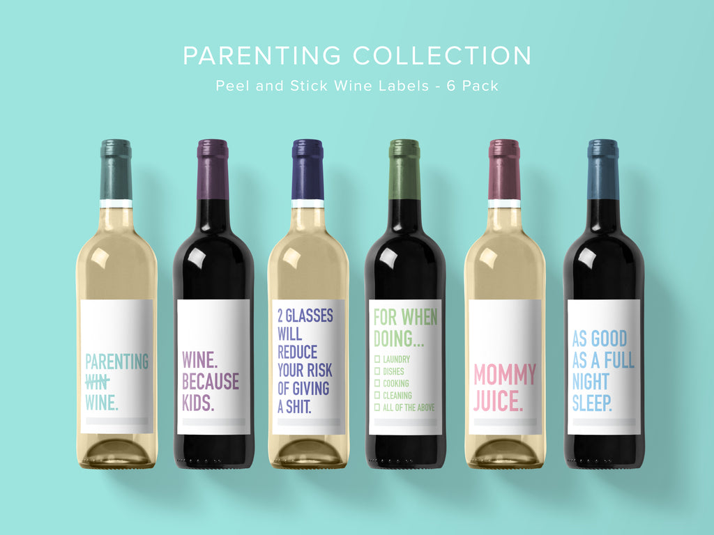 Parenting Wine Labels