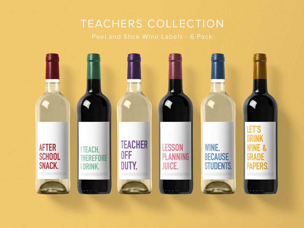 Teacher Wine Labels