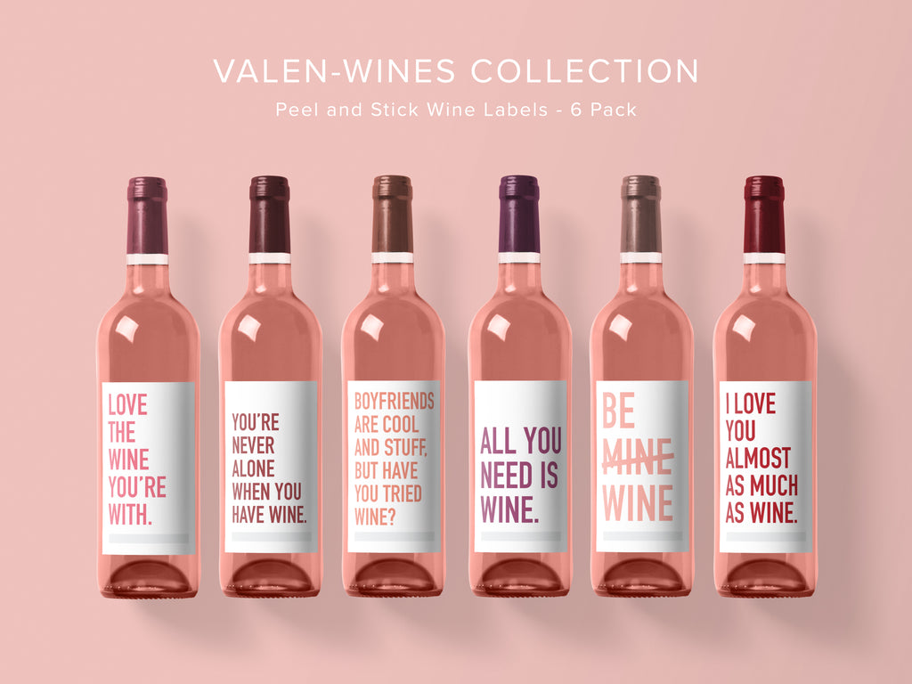 Valen-wine's Wine Labels
