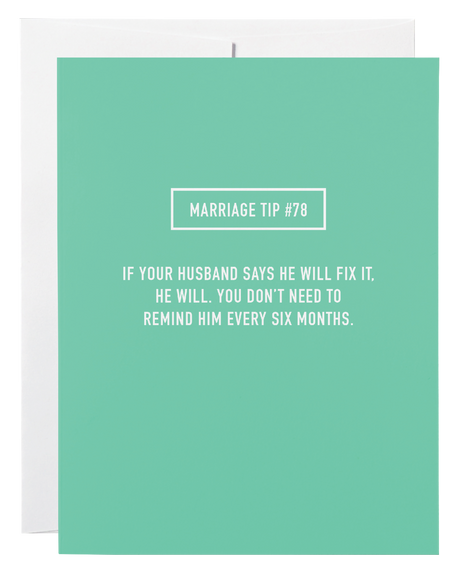 Marriage Tip 78