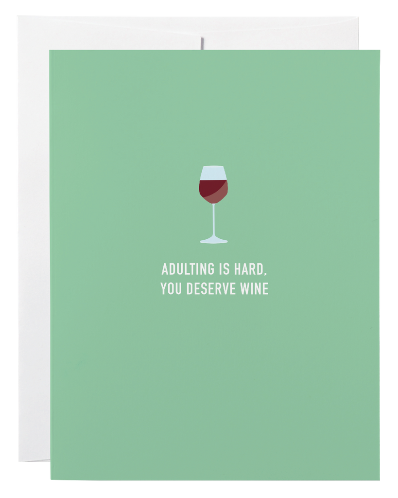 Adulting Wine
