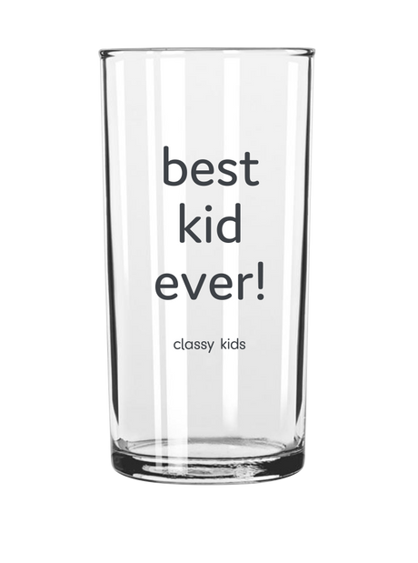 Best Kid Ever - Kids Glass