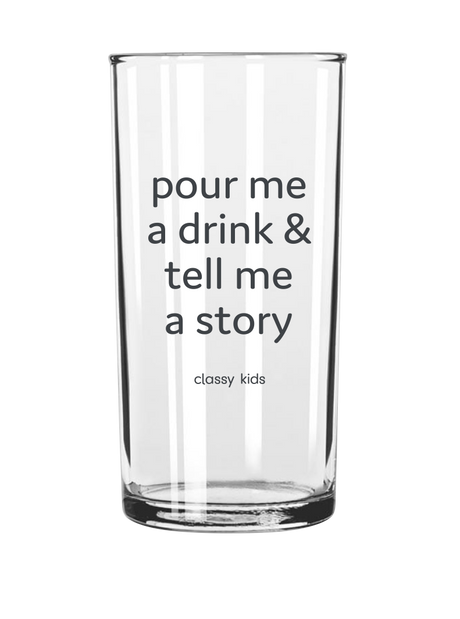 Tell Me a Story - Kids Glass