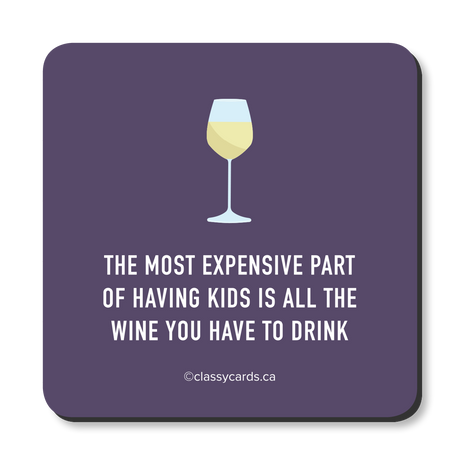 Kids Wine Coaster