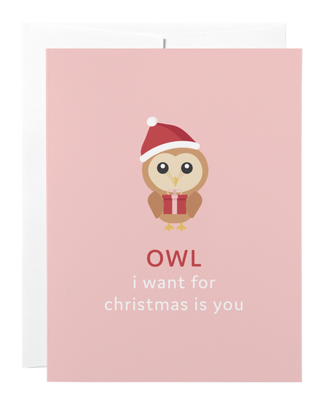 Owl I Want for Christmas