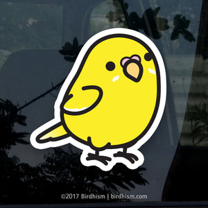Chubby Lutino, Yellow Parakeet Stickers