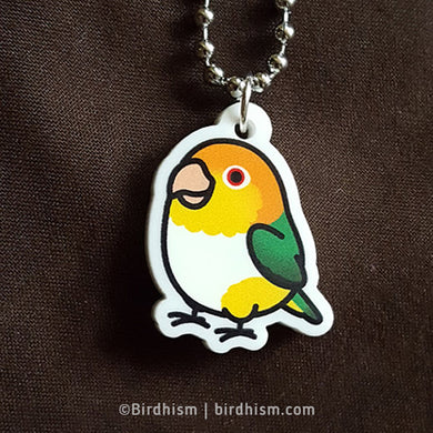 White-bellied Caique Necklace