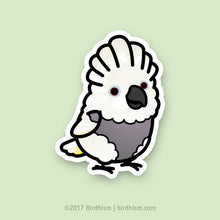 Chubby Umbrella Cockatoo, [Special Needs] Stickers